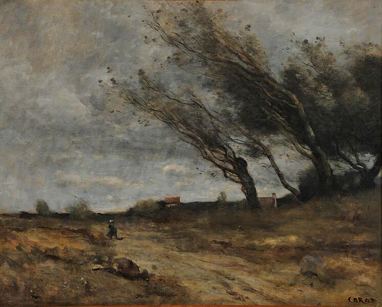 ランス美術館コレクション 風景画のはじまり コローから印象派へ SOMPO美術館-1