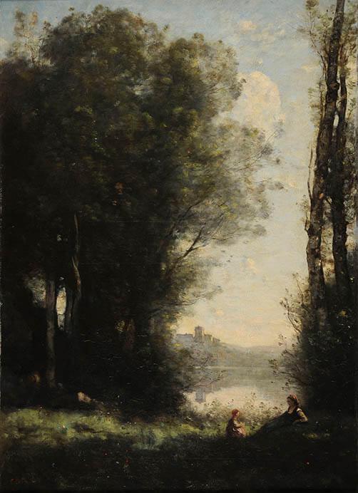 ランス美術館コレクション 風景画のはじまり コローから印象派へ SOMPO美術館-3