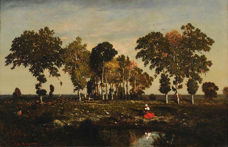 ランス美術館コレクション 風景画のはじまり コローから印象派へ SOMPO美術館-4