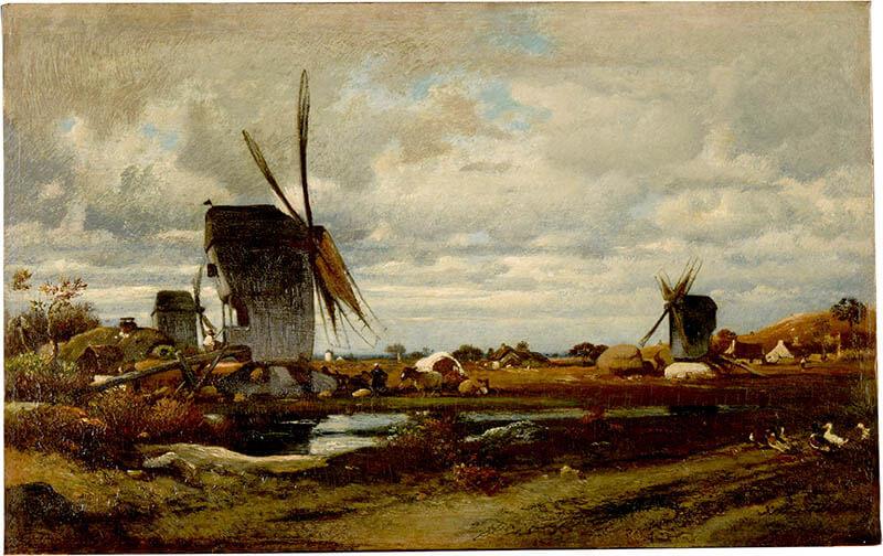 ランス美術館コレクション 風景画のはじまり コローから印象派へ SOMPO美術館-5