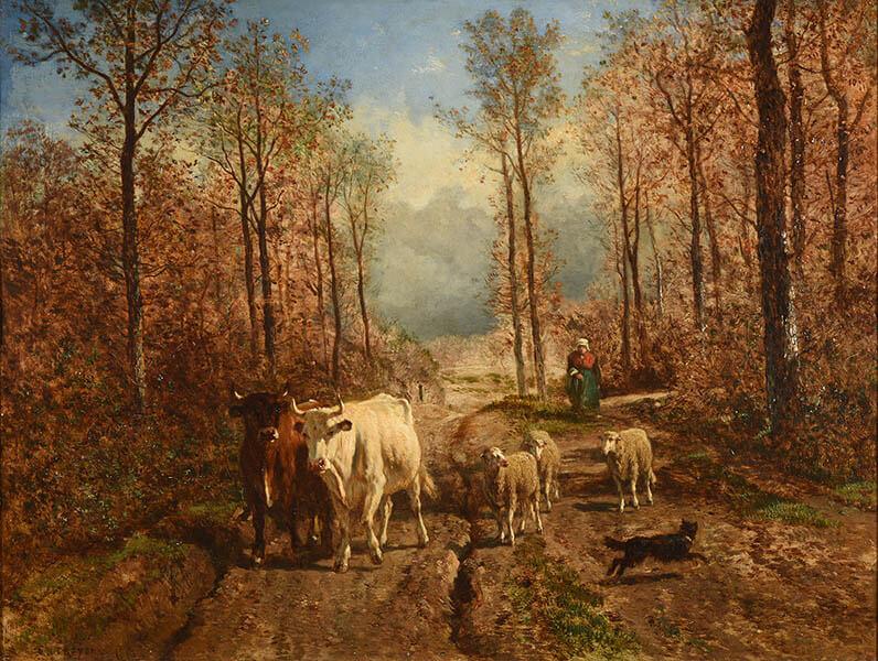 ランス美術館コレクション 風景画のはじまり コローから印象派へ SOMPO美術館-6