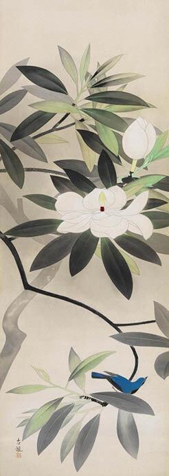 特別展「東西の日本画 ―大観・春草・松園など―」 岡田美術館-10