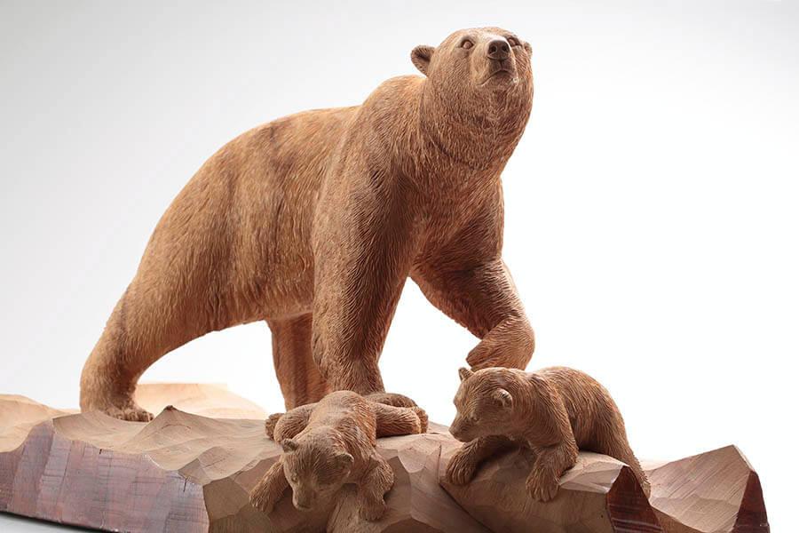 木彫り熊の申し子 藤戸竹喜 アイヌであればこそ 東京ステーションギャラリー-1