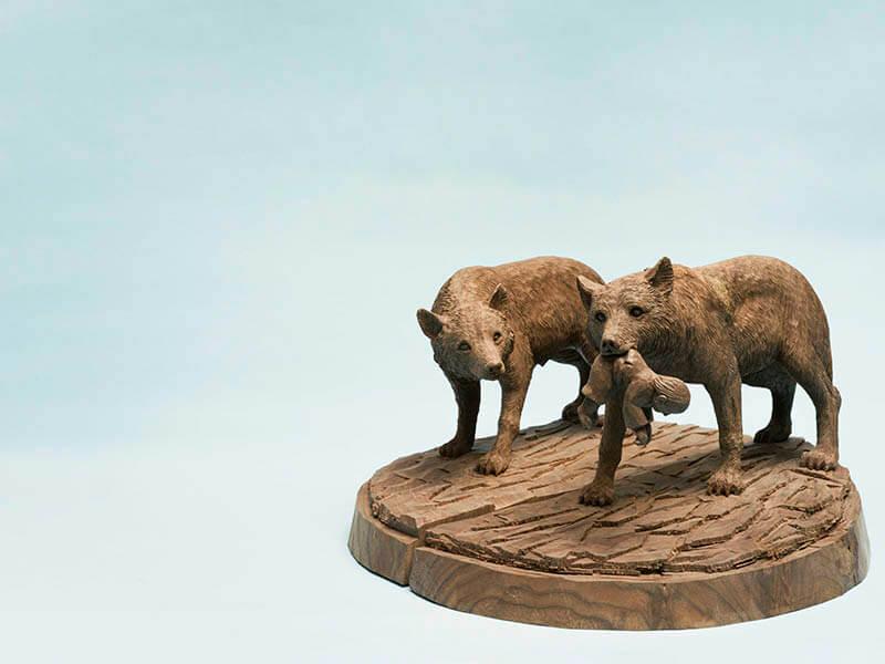 木彫り熊の申し子 藤戸竹喜 アイヌであればこそ 東京ステーションギャラリー-11