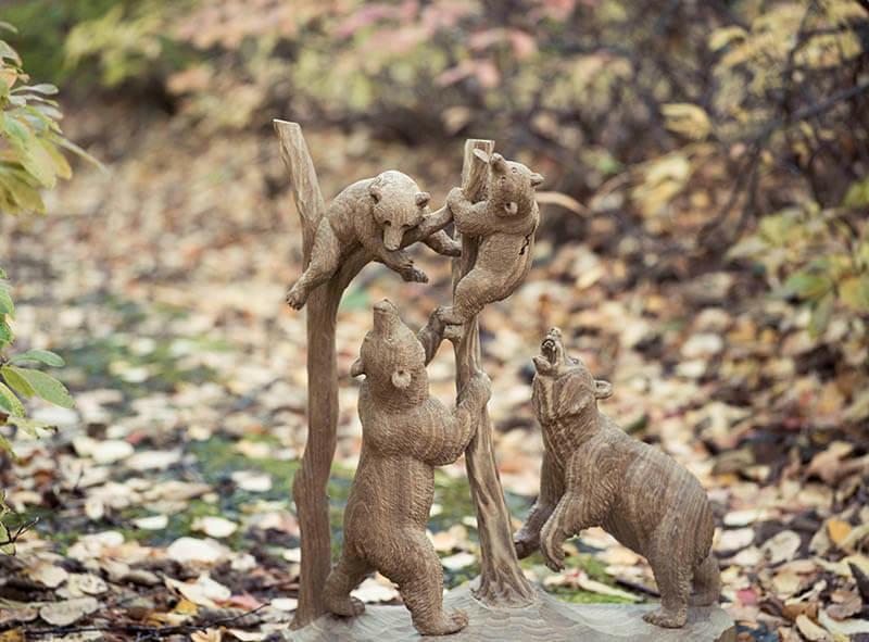 木彫り熊の申し子 藤戸竹喜 アイヌであればこそ 東京ステーションギャラリー-12
