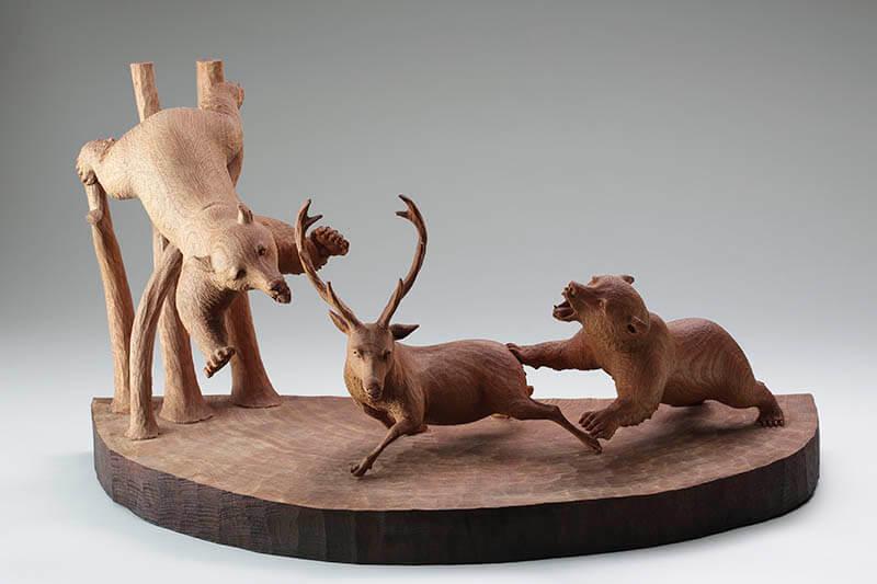 木彫り熊の申し子 藤戸竹喜 アイヌであればこそ 東京ステーションギャラリー-6