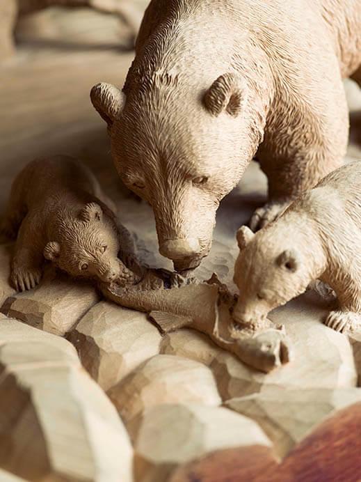 木彫り熊の申し子 藤戸竹喜 アイヌであればこそ 東京ステーションギャラリー-7