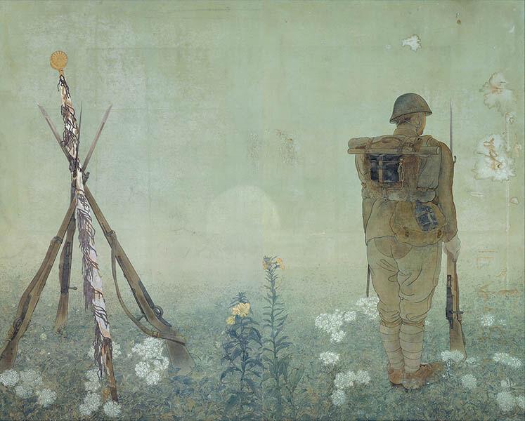 小早川秋聲 旅する画家の鎮魂歌 東京ステーションギャラリー-9