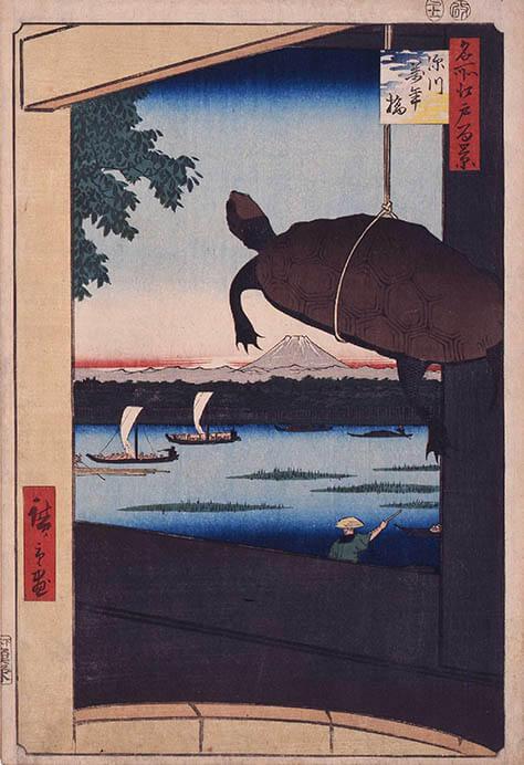 冨嶽三十六景への挑戦 北斎と広重 東京都江戸東京博物館-11