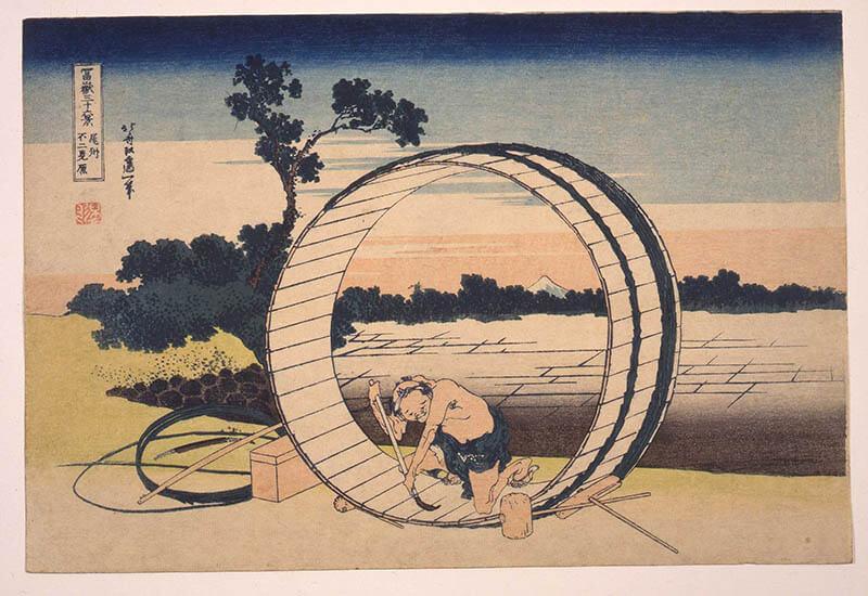 冨嶽三十六景への挑戦 北斎と広重 東京都江戸東京博物館-7
