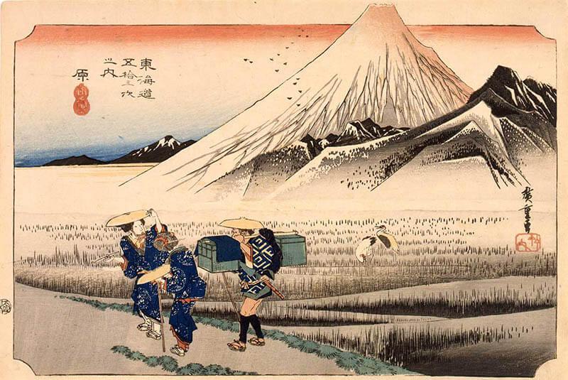 冨嶽三十六景への挑戦 北斎と広重 東京都江戸東京博物館-4