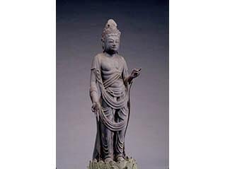 新春特別公開「青蓮寺の観音菩薩立像」