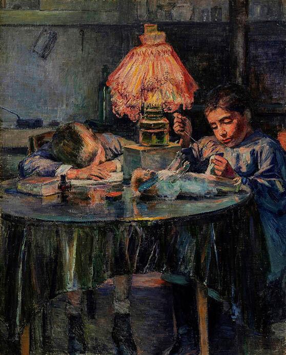 近代日本洋画の名作選展 ひろしま美術館コレクション そごう美術館-6