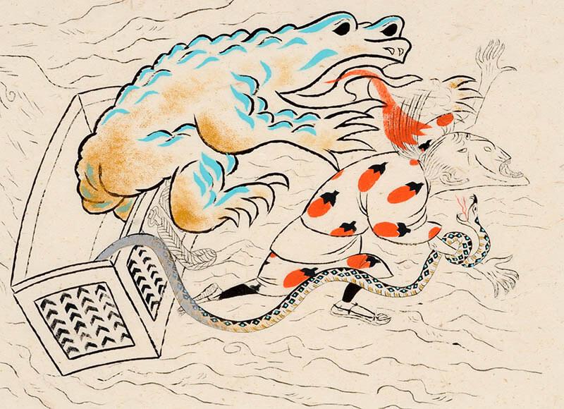 生誕111年 赤羽末吉展 日本美術へのとびら ちひろ美術館・東京-5