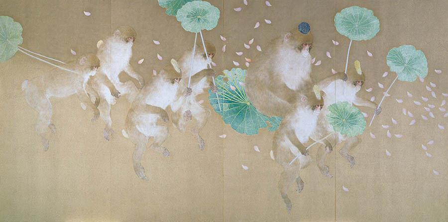 現代日本画「WABI/SABI」展 郷さくら美術館-5