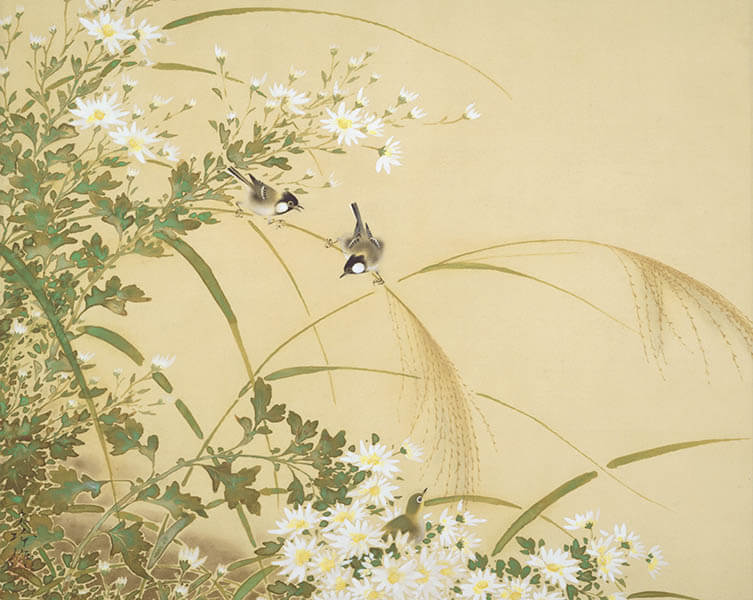 没後50年 榊原紫峰 花鳥の美に魅せられた日本画家 足立美術館-3