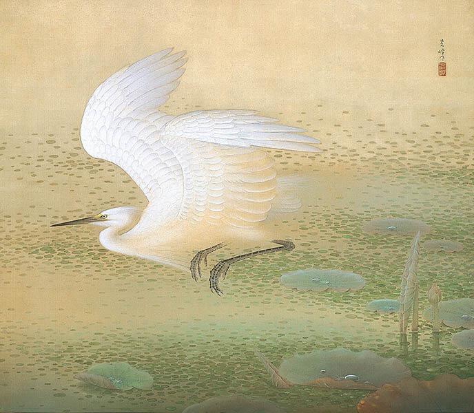 没後50年 榊原紫峰 花鳥の美に魅せられた日本画家 足立美術館-5