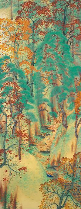 日本画散歩 絵の中に入って楽しむ 足立美術館-2