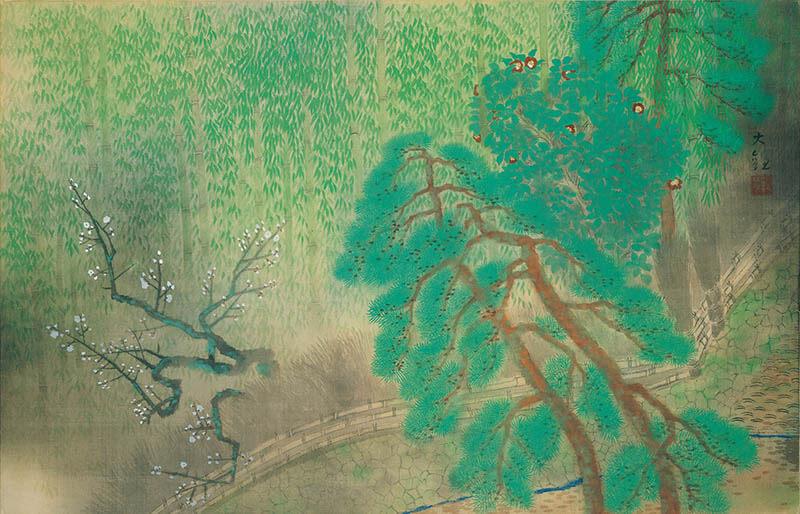 日本画散歩 絵の中に入って楽しむ 足立美術館-3