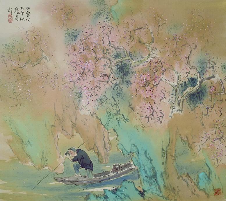 日本画散歩 絵の中に入って楽しむ 足立美術館-5