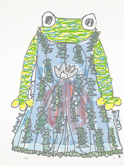 森に棲む服/forest closet ひびのこづえ展 そごう美術館-9