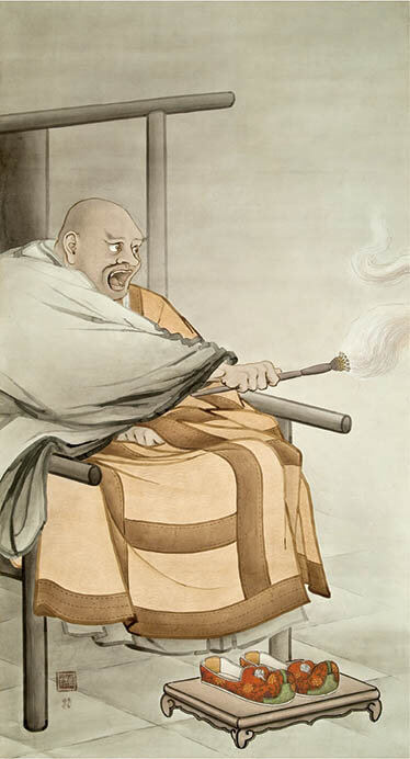 企画展 はじめての古美術鑑賞 人をえがく 根津美術館-5