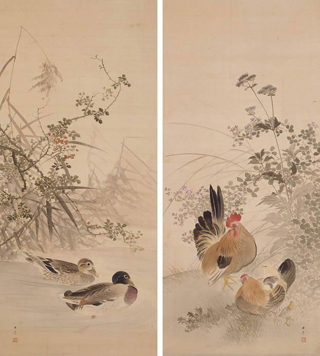 [館蔵]近代の日本画展 五島美術館-2
