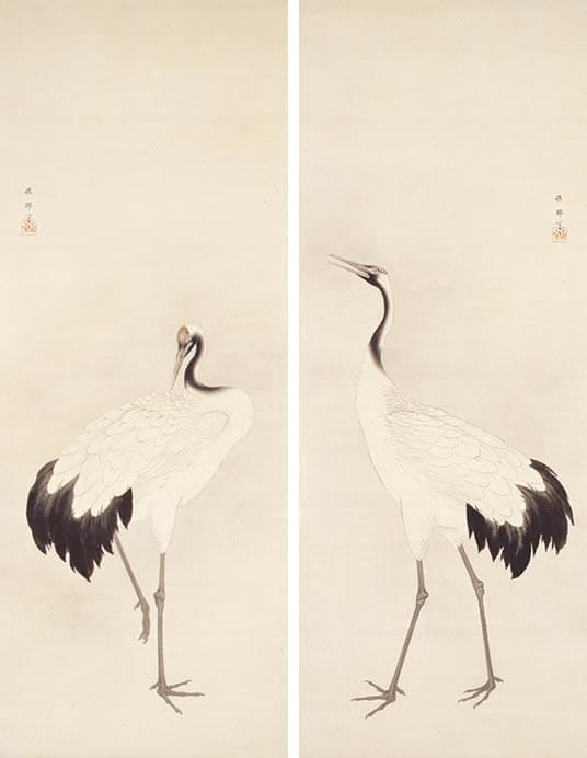 [館蔵]近代の日本画展 五島美術館-1