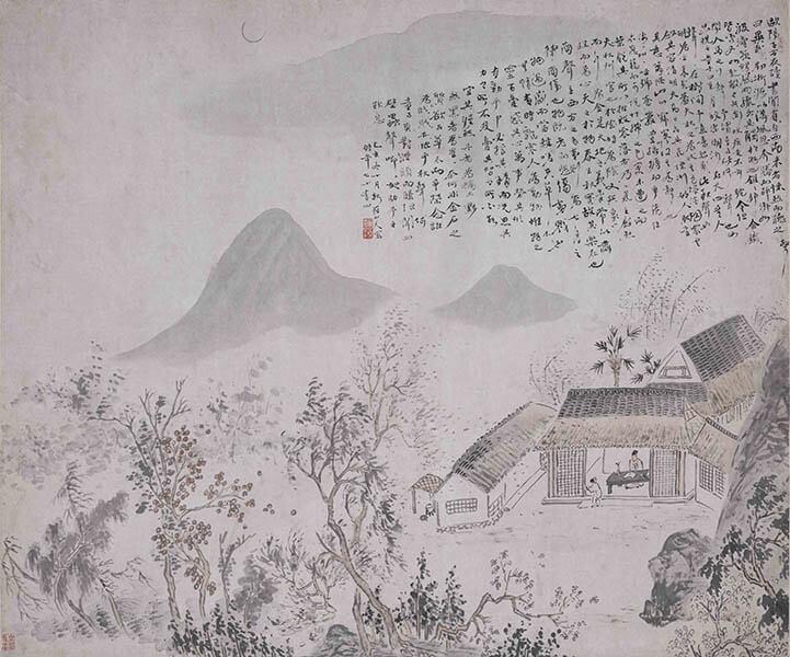 特別展「揚州八怪」 大阪市立美術館-2