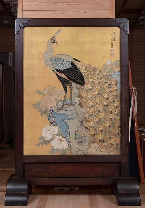 雪月も花も友とて・・・ 茶箱と茶籠 三井記念美術館-10