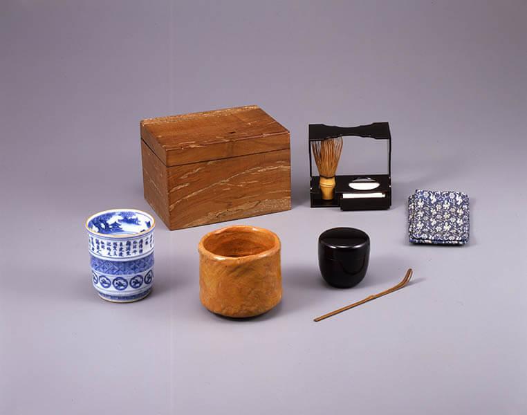 雪月も花も友とて・・・ 茶箱と茶籠 三井記念美術館-4