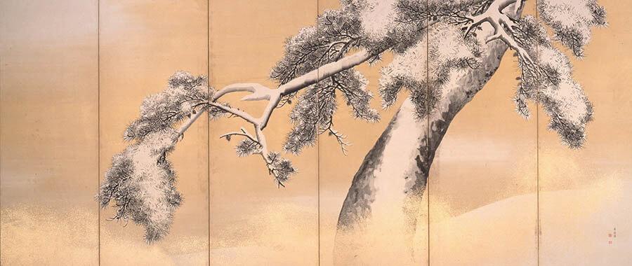 三井記念美術館コレクション名品展 自然が彩る かたちとこころ -絵画・茶道具・調度品・能装束など- 三井記念美術館-7
