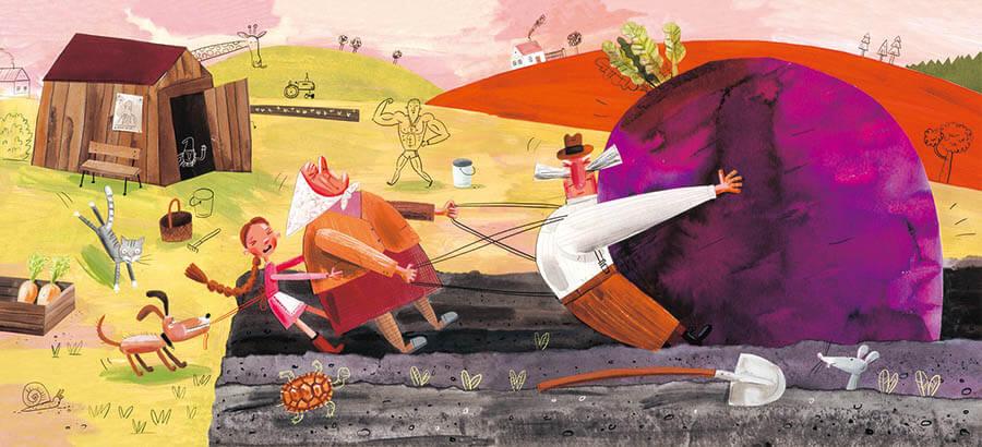 ブラチスラバ世界絵本原画展 こんにちは(Ahoj)!チェコとスロバキアの新しい絵本 茅ヶ崎市美術館-4