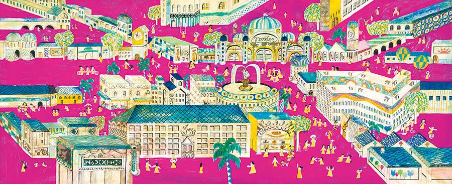 ブラチスラバ世界絵本原画展 こんにちは(Ahoj)!チェコとスロバキアの新しい絵本 茅ヶ崎市美術館-8