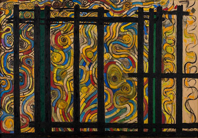 九州洋画Ⅱ:大地の力–Black Spirits 久留米市美術館-11