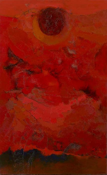 九州洋画Ⅱ:大地の力–Black Spirits 久留米市美術館-14