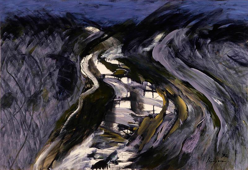 九州洋画Ⅱ:大地の力–Black Spirits 久留米市美術館-15