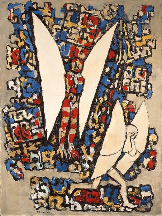 九州洋画Ⅱ:大地の力–Black Spirits 久留米市美術館-18