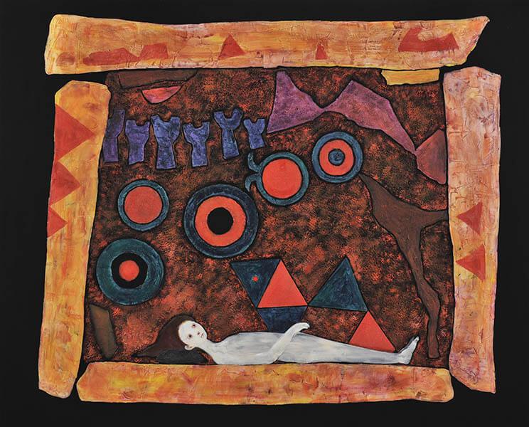 九州洋画Ⅱ:大地の力–Black Spirits 久留米市美術館-19