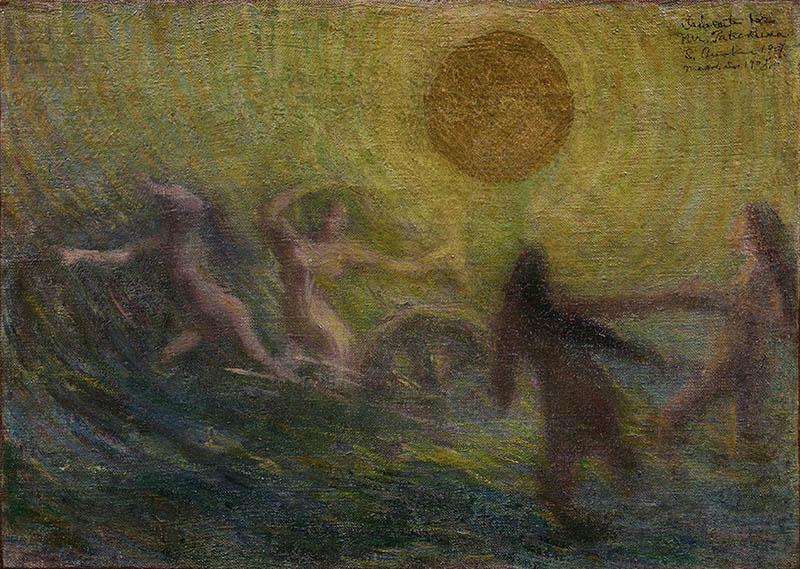 九州洋画Ⅱ:大地の力–Black Spirits 久留米市美術館-4