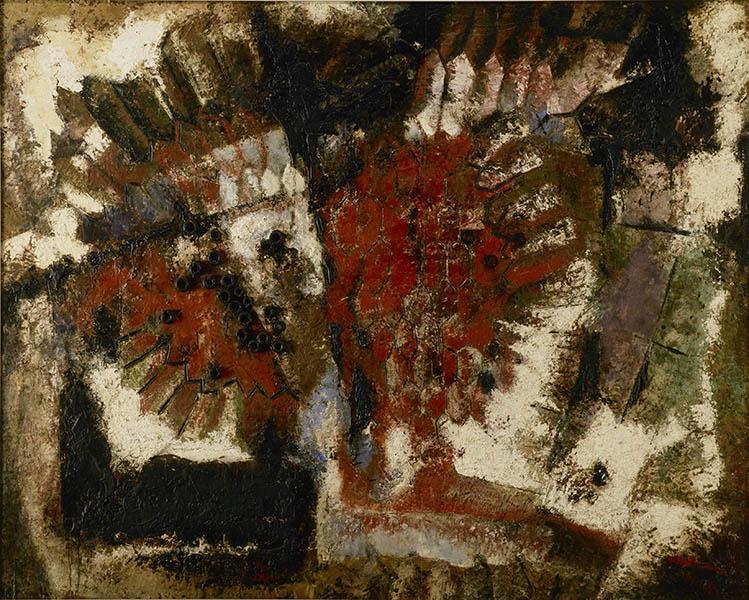 九州洋画Ⅱ:大地の力–Black Spirits 久留米市美術館-6