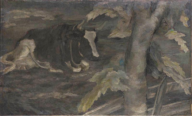 九州洋画Ⅱ:大地の力–Black Spirits 久留米市美術館-7