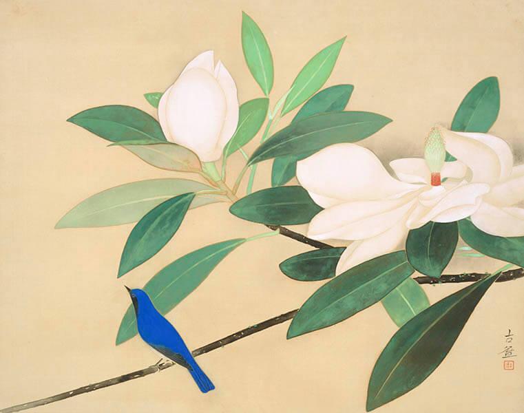 【開館55周年記念特別展】 百花繚乱 ―華麗なる花の世界― 山種美術館-5