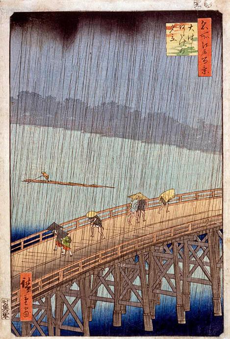 江戸の天気 太田記念美術館-10