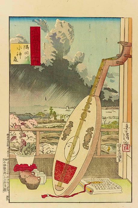 江戸の天気 太田記念美術館-11
