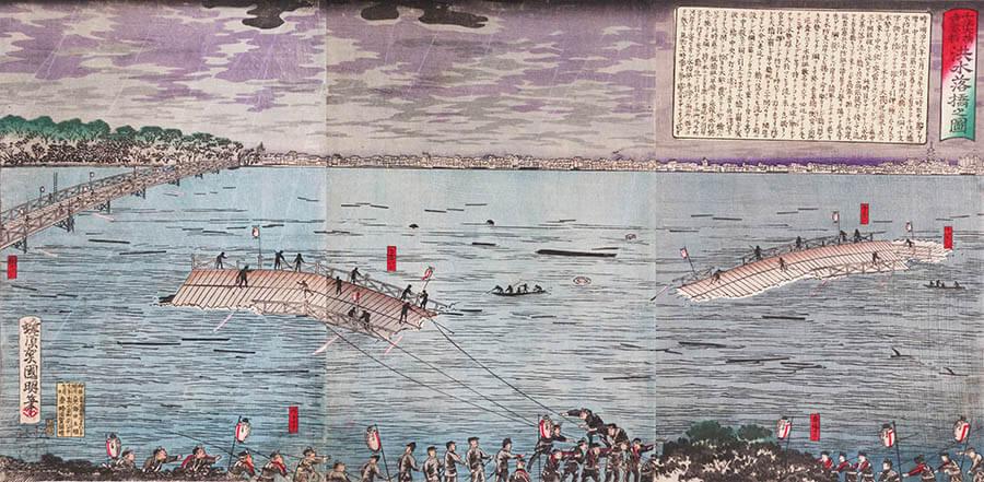 江戸の天気 太田記念美術館-8
