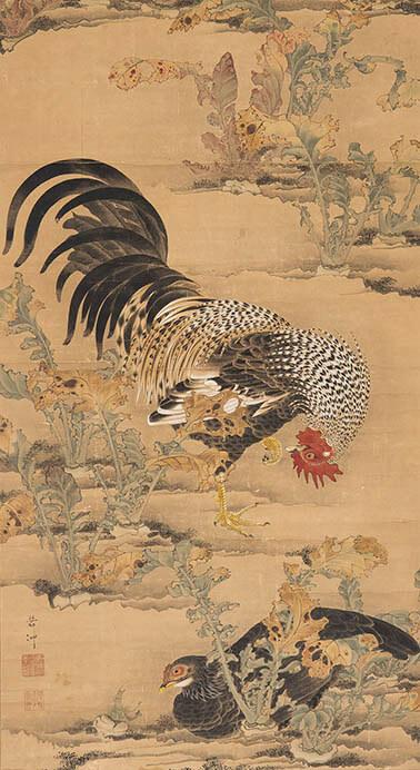 京(みやこ)のファンタジスタ ~若冲と同時代の画家たち 福田美術館-1