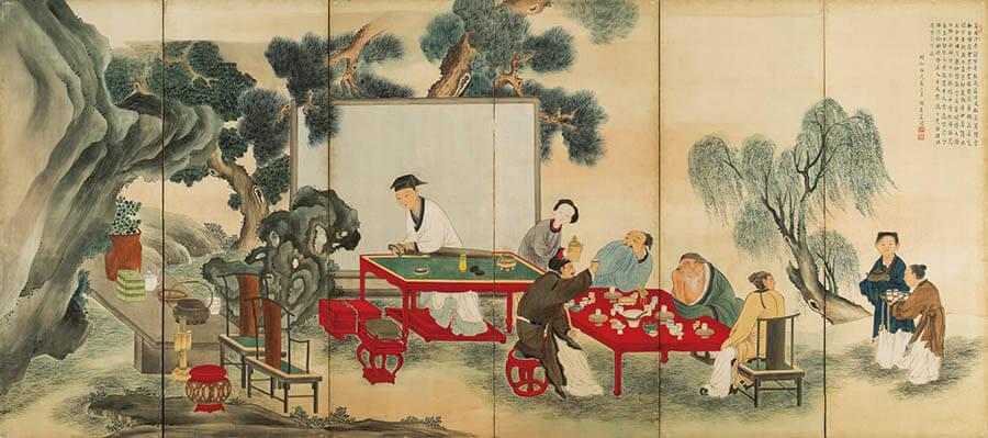 京(みやこ)のファンタジスタ ~若冲と同時代の画家たち 福田美術館-10