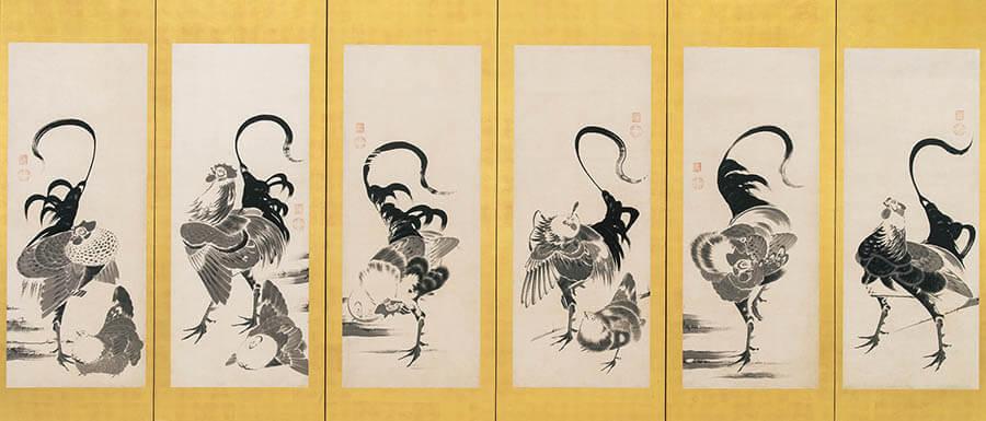 京(みやこ)のファンタジスタ ~若冲と同時代の画家たち 福田美術館-11