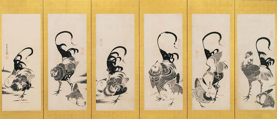 京(みやこ)のファンタジスタ ~若冲と同時代の画家たち 福田美術館-12